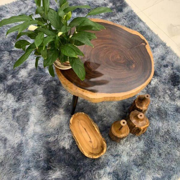 Sofa đẹp từ gỗ me tây